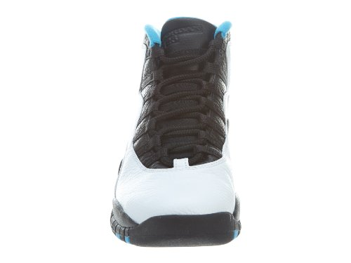 Air Jordan Retro 10 White/Dk Powder Blue Black