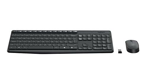 Logitech 920-007919 MK235 - Teclado ratón inalámbrico