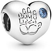 Pandora Women's 925 Sterling Silver Baby Boy Charm Bead (791281