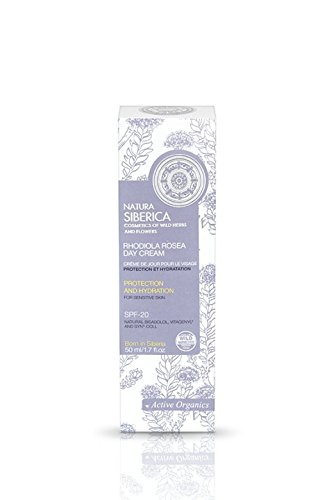Natura Siberica Rhodiola Rosea Face Day Cream For Sensitive Skin Protection and...