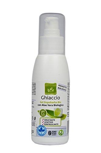Ghiaccio Gel Dopobarba Bio con Aloe Vera Biologica - 100 ml