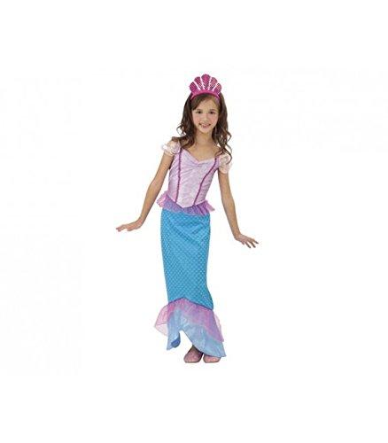 Imagen de disfraz sirenita niña  7 9 años