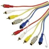 HQ Universal A / V câble de raccordement de 1,5 m  (Import Allemagne)