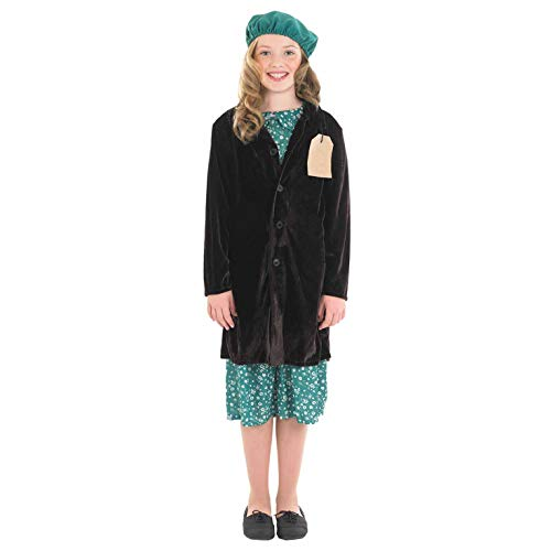 Fun Shack FNK3455L Kostüm, Evacuee Girl, Large