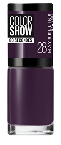 Maybelline Color Show 60 Seconds Nail Varnish 7ml Made in Madison #28