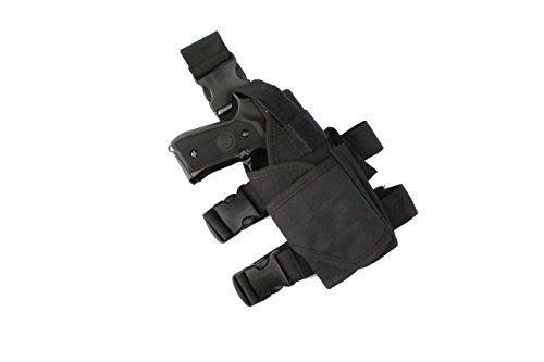 Ajustable de pierna para pístola táctica Airsoft pistola de gota pie