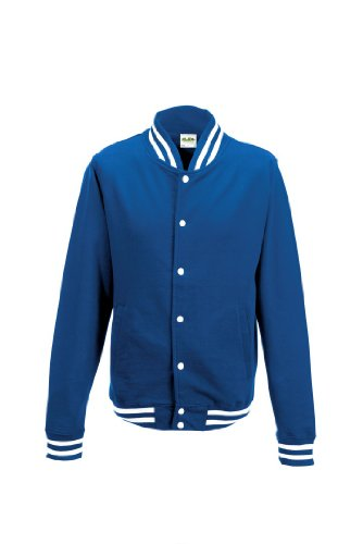 AWDis College Jacket Compatible Smartphone Bleu - Bleu marine