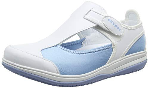 Womens Geschlossene Zehe Kurz (Oxypas Candy, Women's  Work Shoes, Blue (Light Blue), 41 EU (7 UK))