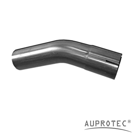 Universal Exhaust Pipe Bend 30° Degree Ernst bent exhaust tubing Ø 55 mm one end flared