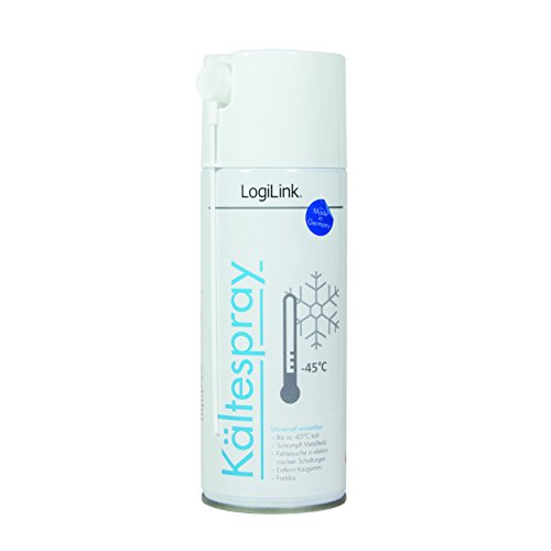 LogiLink RP0014 Kältespray (400 ml) zur Fehlersuche in elektronischen Schaltungen farblos