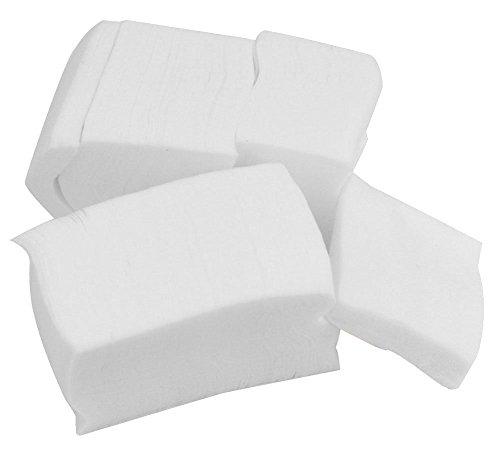 Hilai Facilla ® Lot de 400 Lingettes Dissolvantes Non Pelucheuses pour Vernis à Ongles Gel ou Acrylique