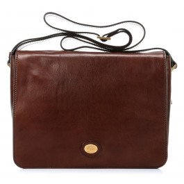 The Bridge Borsa Messenger 05275701-14 Marrone