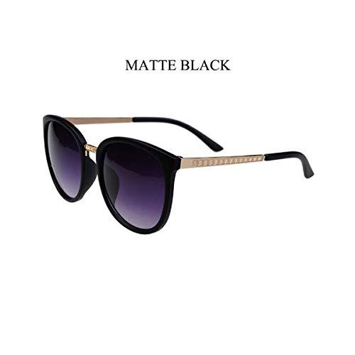 Sonnenbrillen Oversized Round Sunglasses Women Brand Designer Luxury Fashion Eyeglasses Big Shades Sun Glasses Retro Matte Black