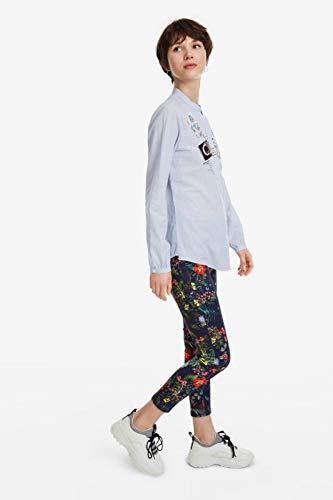 Desigual Georgina Hemden Damen Blau - XL - Hemden