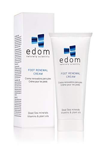Edom - Fußcreme Totes Meer - Fußcreme gegen Hornhaut - mit wertvollen Mineralien vom Toten Meer