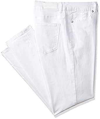 1287a5d7b3012f VERO MODA Damen Jeanshose Vmseven NW Denim Jeans White NOOS Weiß (Bright),  W26