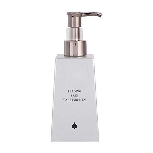 Men Face Cleanser, Deep Cleanse Gesichtswäsche zum Reinigen, Befeuchten, Aufhellen und Pflegen, 200g