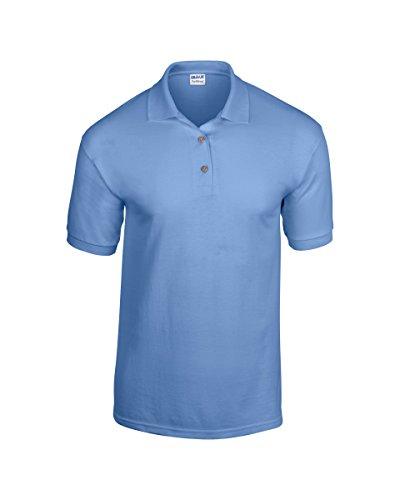 Gildan DryBlend Herren Jersey-Polo Blau - Carolina Blue
