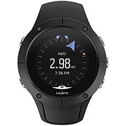 Suunto SS022668000 Spartan Trainer Wrist HR - Reloj GPS deportivo ligero y compacto para entrenamiento versátil y estilo de vida activo, Negro (Black), Talla única