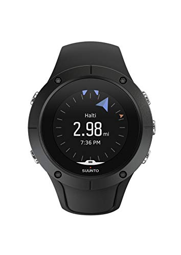Suunto SS022668000 Spartan Trainer Wrist HR GPS Watch (Black)