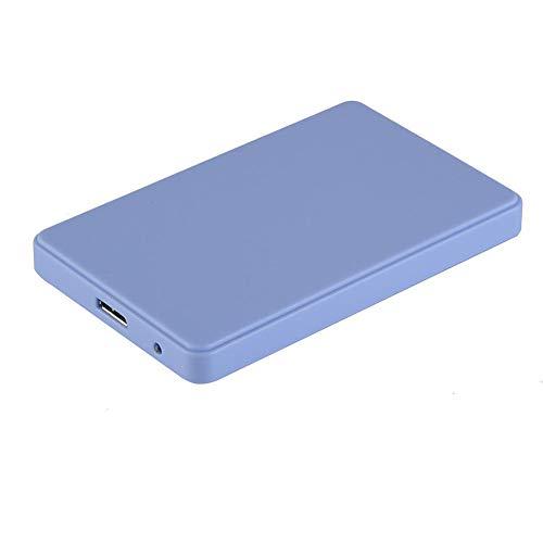 """circulor Externes USB 3.0-Festplattengehäuse 2,5"""", SATA III 6 Gbit/S, Für Festplatte Und SSD 2,5 Zoll Und 7/9,5 Mm, Werkzeuglos, Hochgeschwindigkeit"""
