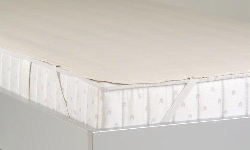 Price comparison product image BNP Kalmuch Mattress Topper Jasmine 90 cm x 200 cm white