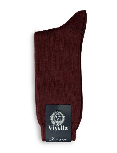 mens-1-paio-viyella-corto-wool-socks-coste-con-le-dita-dei-linked-mano-mulberry