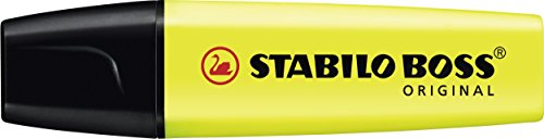 Highlighter - STABILO BOSS ORIGINAL Box of 4 Assorted Colours Img 1 Zoom