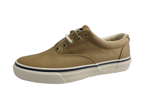 Sperry Top-Sider CVO Striper Waxed Canvas Sneakers Beige