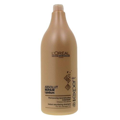 L\'Oréal Professionnel Serie Expert Absolut Repair Lipidum Shampoo, 1er Pack, (1x 1,5 L)