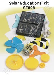 Elektronik-Set SE828 solarbetriebenes Lernset