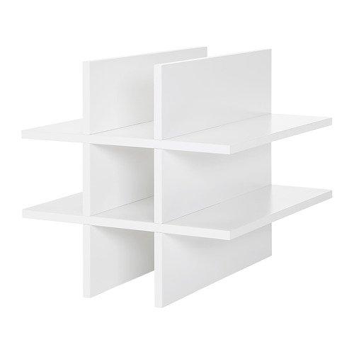 IKEA KALLAX Flascheneinsatz in weiß; (33x33cm)