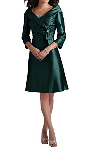 Ivydressing -  Vestito  - linea ad a - Donna Dunkelgruen-Kurz