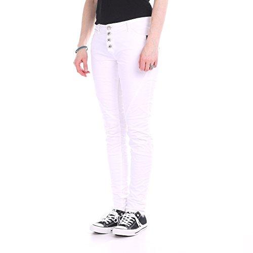 Jeans Urban Surface Knopfleiste Teilungs Größe: M Farbe: bloodless