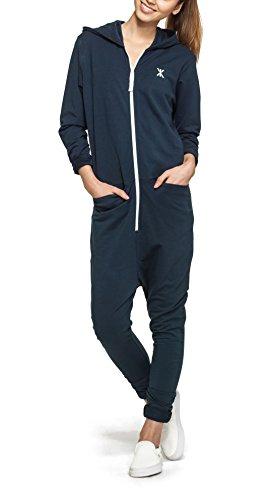 Onepiece Damen Jumpsuit Uno Blau (Navy)