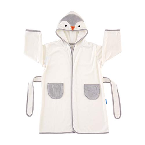 The Gro Company Poppy The Penguin Grorobe Hooded Toddler Bath Robe, 1-3 years