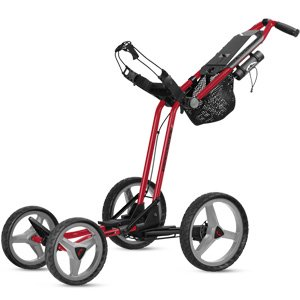 Sun Mountain micro carrello GT Push trolley, Red