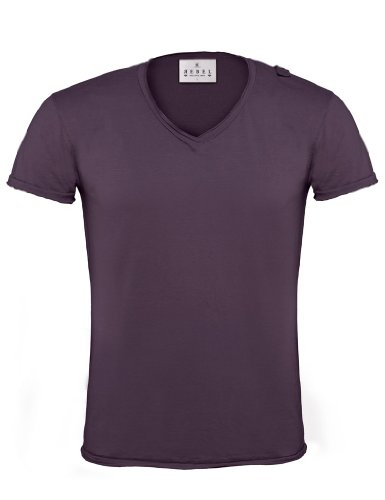 BCTMR03 T-Shirt Soul / Men Purple Smoke (Solid)