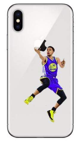 �r iPhone XR Stephen Curry 30 Golden State Warriors NBA Soft Silikon ()