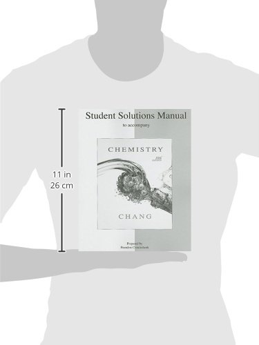 Student's Solutions Manual to Accompany Chemistry