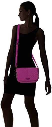Kipling - Earthbeat S, Borse a tracolla Donna Rosa (Wild Pink)