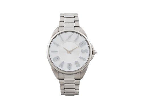 Just Cavalli Damen Analog-Digital Quarz Uhr mit Edelstahl Armband JC1L008M0065