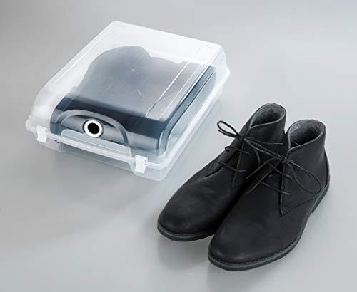 Wenko 50934100 Boîte à Chaussures XL, Polypropylène, 29 x 13 x 36 cm, Transparent