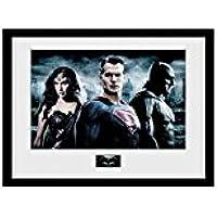"""GB eye–Fotografía enmarcada de """"Batman vs Superman, City, multicolor, 16(30,5x 30,5cm"""