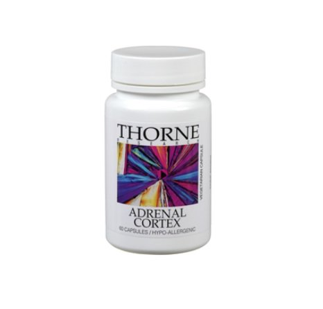 Thorne Research, Adrenal Cortex, 50mg, 60 Veg. Kapseln