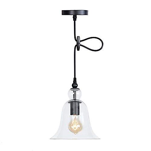 LED Mundgeblasene Lampe Kronleuchter Glas Metall Horn Verstellbarer Kronleuchter Beleuchtung 60W Pendelleuchte -