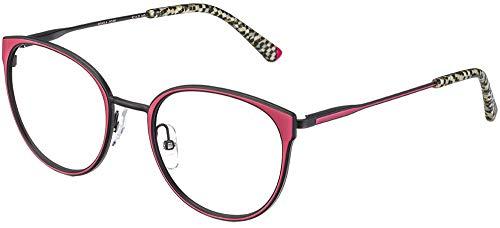Etnia barcelona occhiali da vista manila red black 52/20/140 unisex