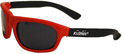 Kushies S665-RED Sonnenbrille KLEINKIND, rot