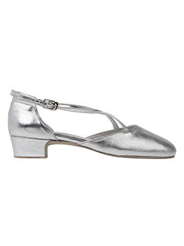 Bild von Rumpf Broadway 2021 Tanzschuhe Leder Latein Salsa Rumba Tango Ballroom Standard Schuhe Chromledersohle Absatz 3 cm