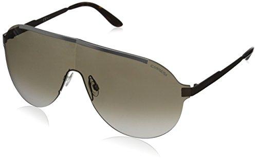 b645954f85 Carrera 0827886531240 Ca93s Shield Sunglasses Ruthenium Brown 99 Mm ...